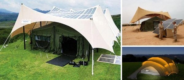Sun Is The Future – Solar Powered Tent