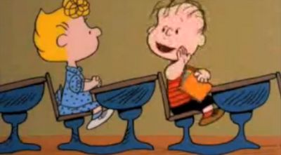 What did the teacher from Charlie Brown used to say