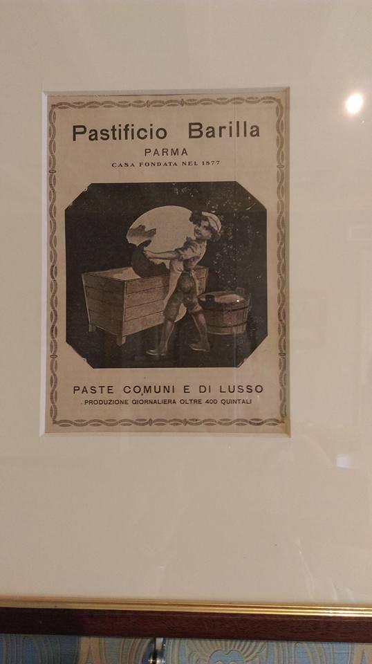 When Barilla was a real luxury pasta - original, Villa Carlotta, Como