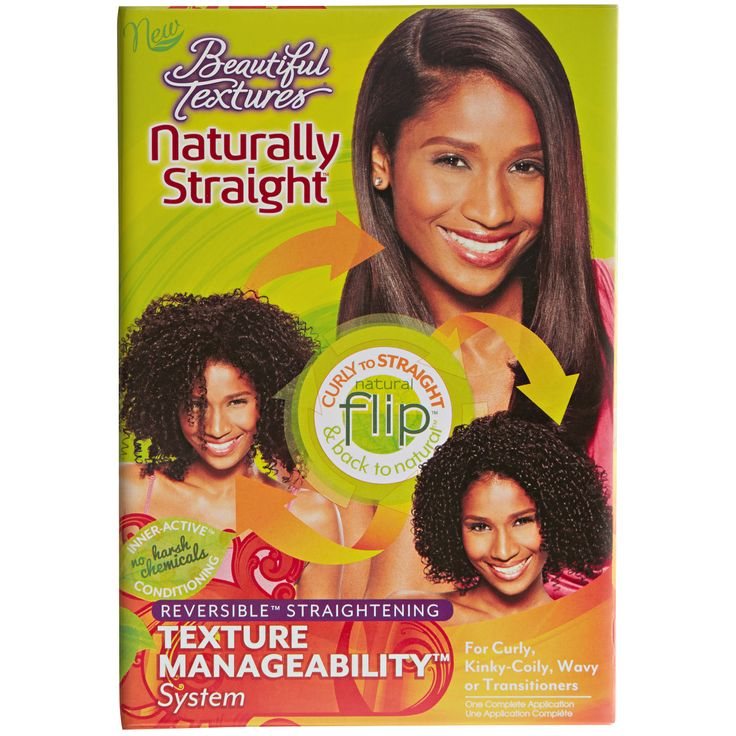 Beautiful Textures Naturally Straight Texture Manageability System is the ultimate hair manageability and styling versatility system.