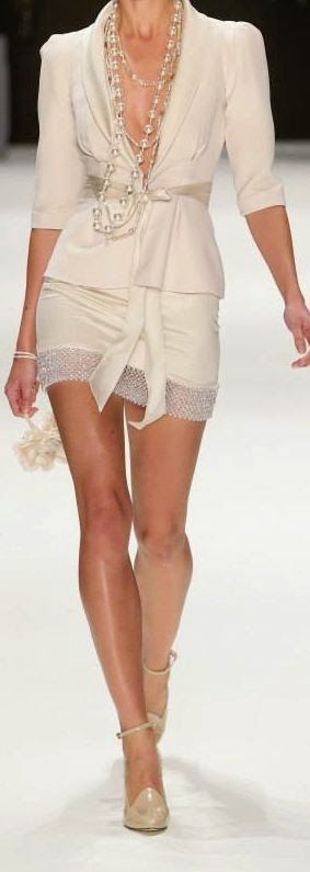 Luv to Look | Curating Fashion & Style: Runway | Cream glam