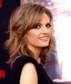 241543903: Stana Katic Young Star Profile and Pictures 2012