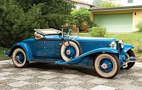 1931 Cord L-29 Cabriolet.