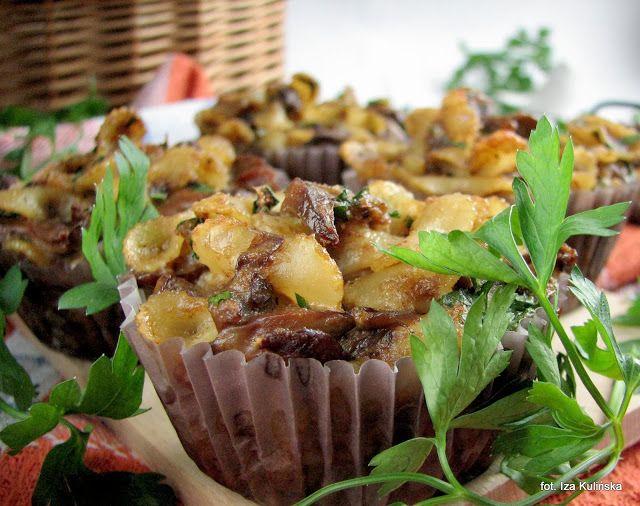 Smaczna Pyza sprawdzone przepisy kulinarne: Babeczki makaronowe z łuszczakami