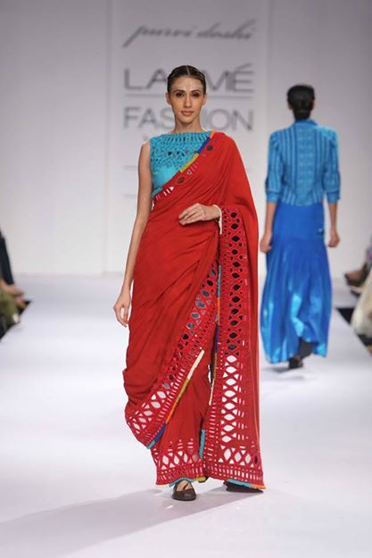 DAY 2 - Purvi Doshi at Lakme Fashion Week 2014