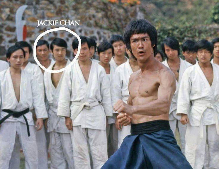 Bruce Lee et Jackie Chan...