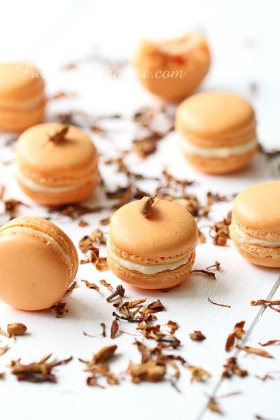 Macarons à la fleur d'oranger - www.Puregourmandise.com