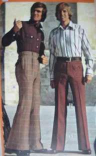 Image result for men bell bottoms 70s