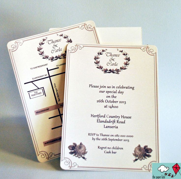 #WeddingInvitations #WeddingStationery #PartyInvitations #Invitations #TheWeddingProvider  http://www.theweddingprovider.co.za//p/697853/the-paper-kite--the-paper-kite-is-a-small-business-designing-unique-hand-crafted-wedding-stationery-and-party-invitations-gauteng  https://www.facebook.com/pages/The-Paper-Kite/260971743930114#!/pages/The-Paper-Kite/260971743930114