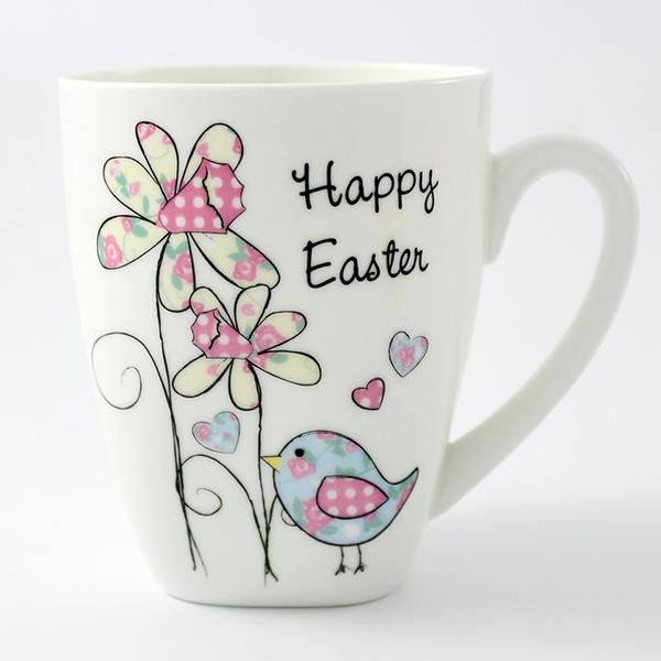 79 best personalised easter gifts images on pinterest easter personalised easter daffodil chick latte mug the hut market personalised gift shop negle Gallery