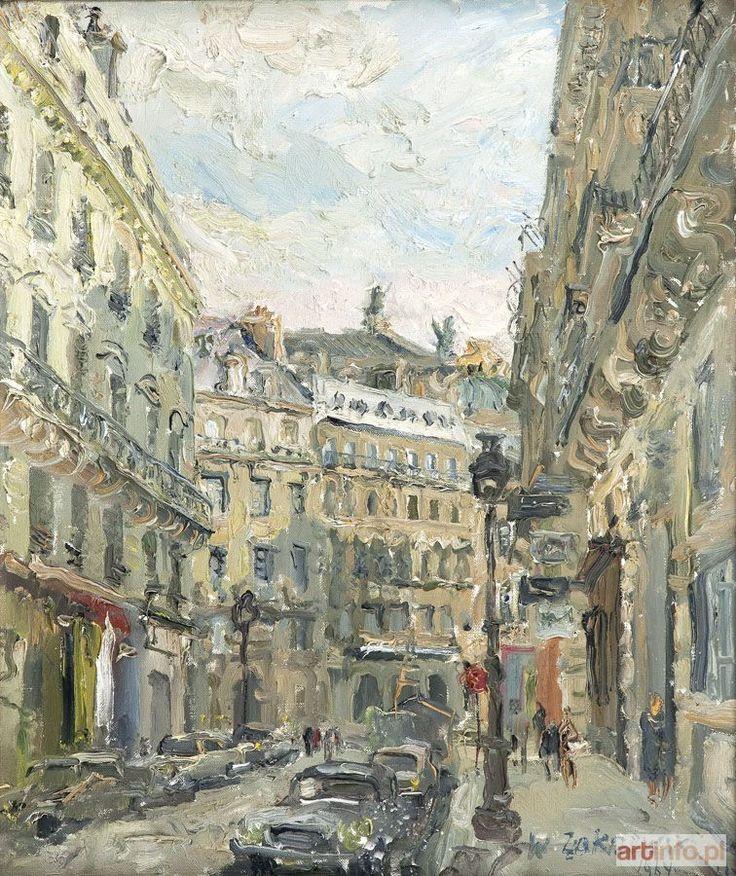 Włodzimierz ZAKRZEWSKI ● Opera Paryska, 1964 r. ●
