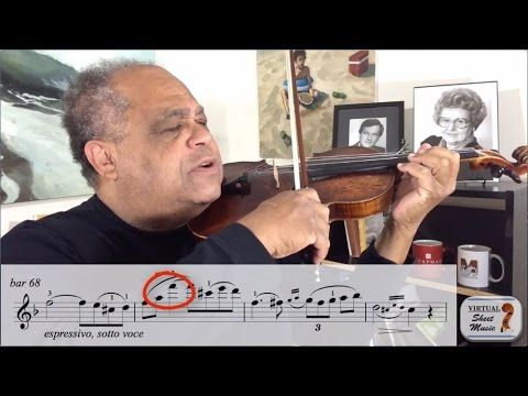 Violin Lesson - How do we learn music on the violin?