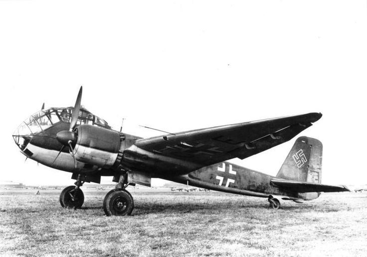 The Junkers Ju 188 was a German five crew twin engined high-performance medium bomber, developed from the Ju 88, serving in World War 2.