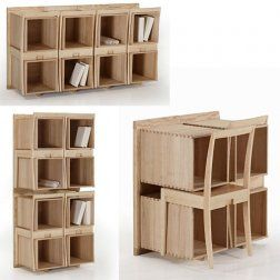 Multifunctional furniture. Would be freaking amazing in the classroom