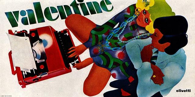 1960s Advertising - Poster - Olivetti