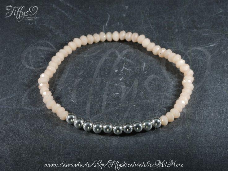Armbänder - Armband * Perlen 925 Sterling Silber Silberperlen - ein Designerstück von TiffysKreativatelier bei DaWanda