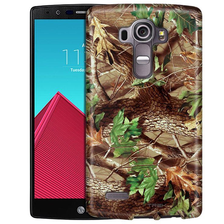 LG G4 Real Tree Camouflage Hunter Slim Case
