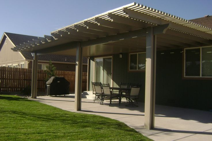 ... Of Exterior Patio Covers Protect Outdoor Furniture And Provide Shade