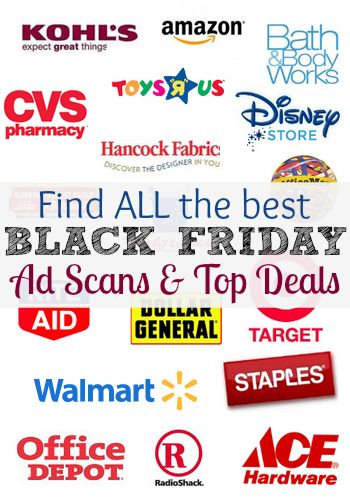 Find all of the latest Black Friday 2013 Ad Scans and deals!  You can make your shopping list OR find how how to shop the same Black Friday deals online!