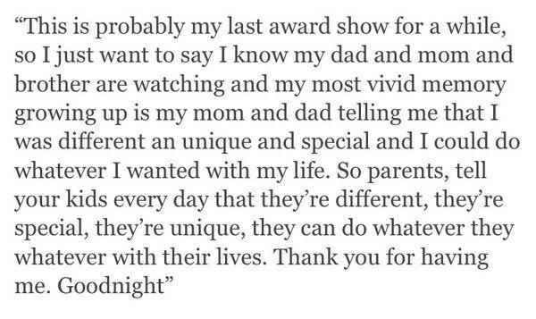 Taylor's Speech for winner Album of the Year   Taylor Swift Updates (@TSwiftOnTour) | Twitter