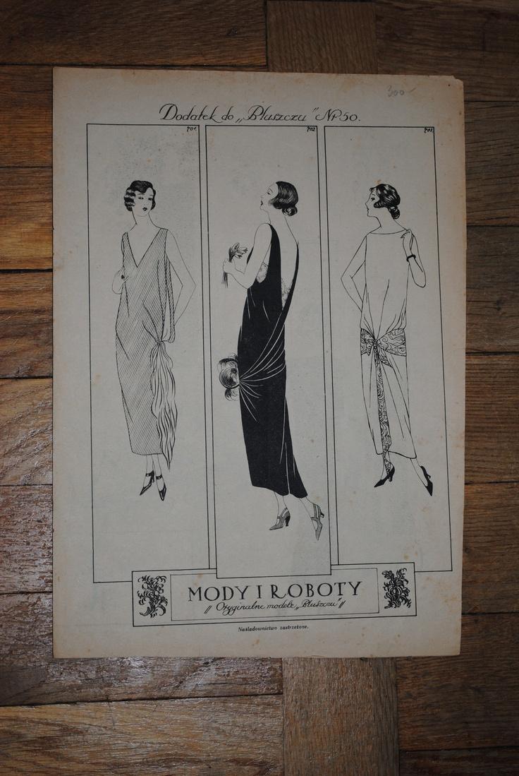Mody i Roboty, Bluszcz, 1920