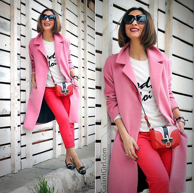 Galant-Girl E. - Red + Pink. Боремся за весну!