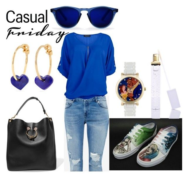 """""""Casual Friday"""" by audreybrookezaring ❤ liked on Polyvore featuring J.W. Anderson, Winky Lux, I+I, Ted Baker and Venus"""