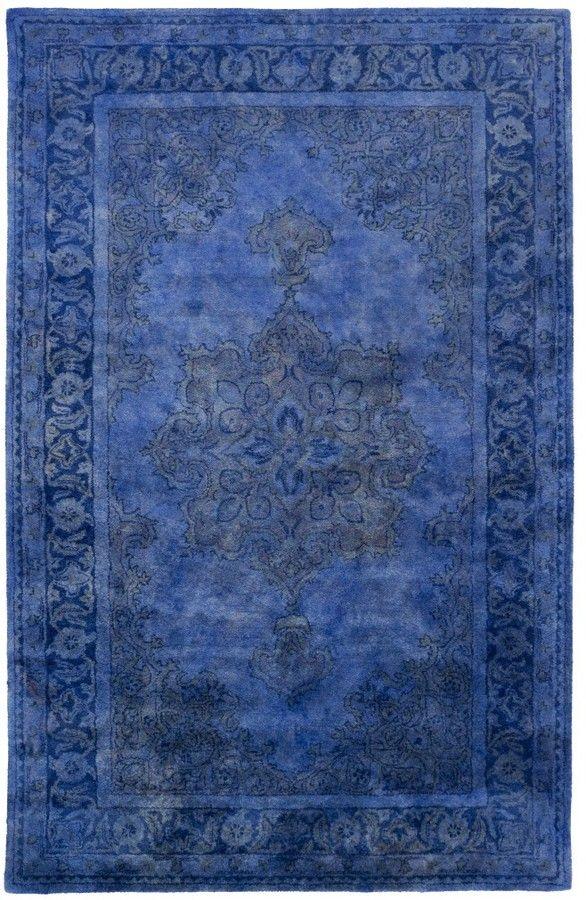 Bhilal Rug, Cobalt