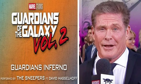 Guardians of the Galaxy 2 David Hasslehoff theme is Disco madness: Start the party HERE