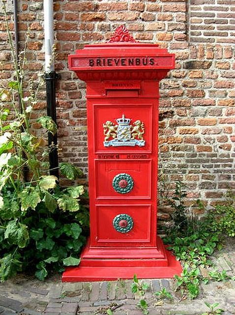 Staande Brievenbus 1914 Deventer by Philatelic Library, via Flickr