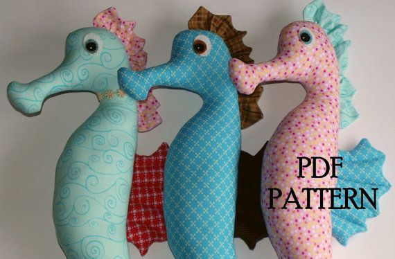 Seahorse Pattern: Patterns Softies, Toys Patterns, Direction Downloads, Seahorses Patterns, 8 00, Patterns Direction, Seahor Patterns, 24Cm Seahor, Pdf Patterns