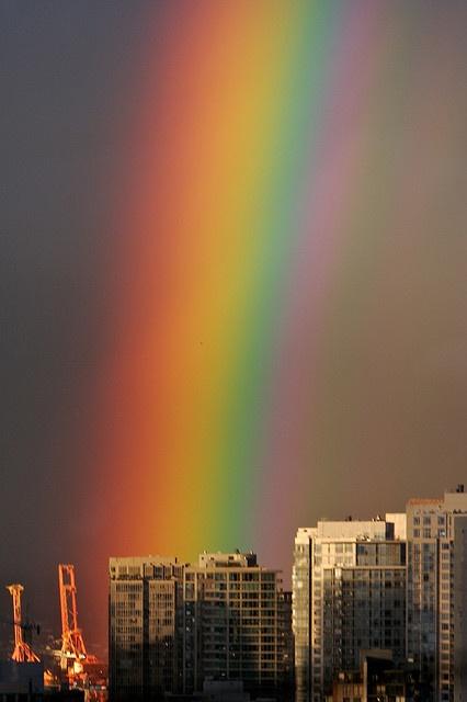 God's promise the rainbow...we see it still!