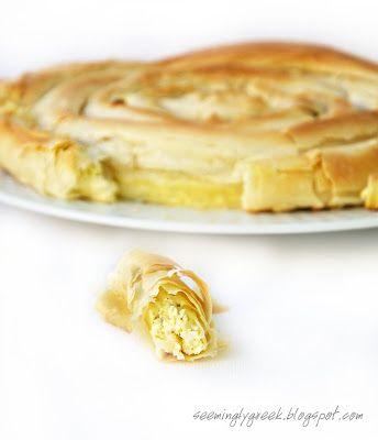 Spiraled Cheese Pie