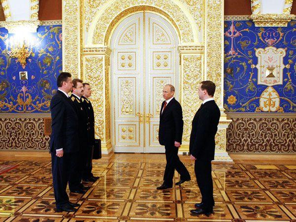 Инаугурация Путина В.В. в Грановитой палате