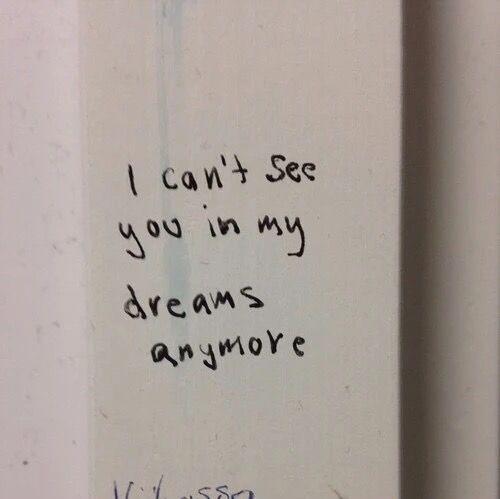 já não posso mais meus sonhos``•
