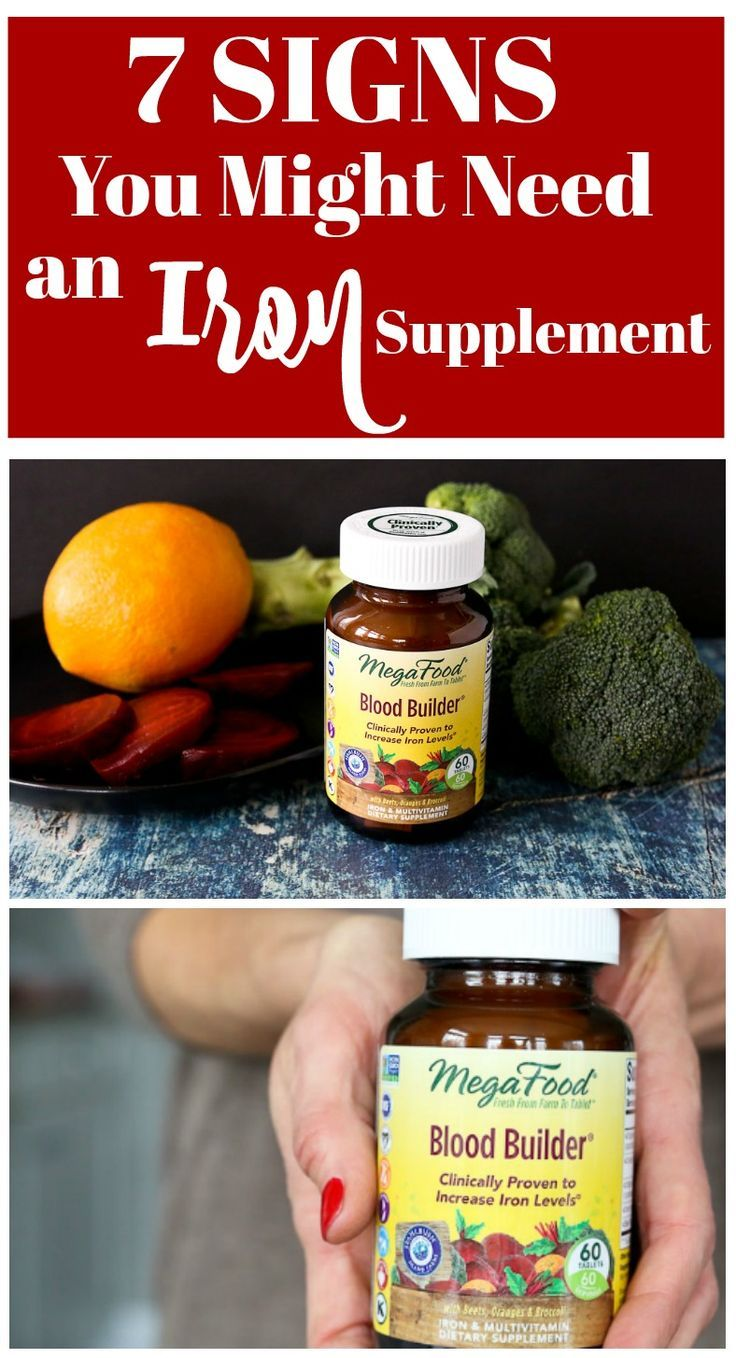 And Which Iron Supplement Should You Take 7 Signs You Might Need