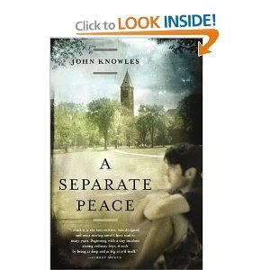 a review of a separate peace a novel by john knowles John knowles theme: coming of age grades: grades 10-11 summary: gene  forrester  have students design book jackets for a separate peace ask them  to.