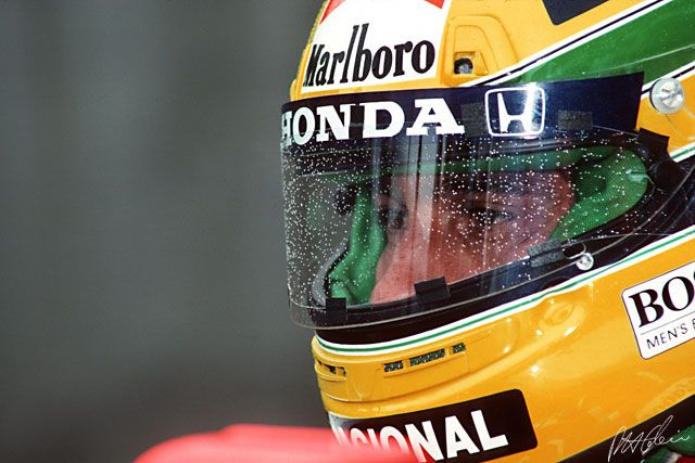 Rain in Formula One: The Cahier Archive :Senna