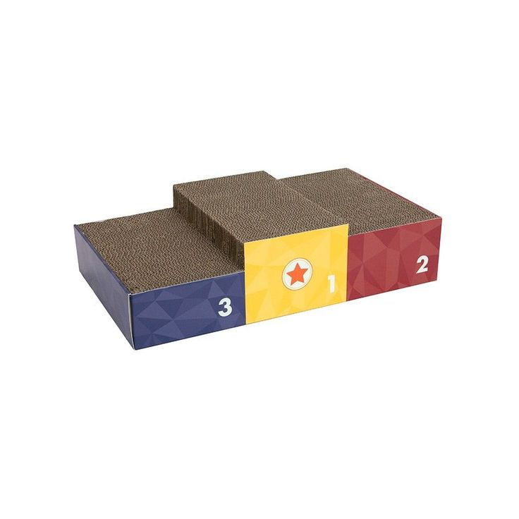 Olympic Podium Large Scratcher - Bronze, Silver & Gold - Boots & Barkley