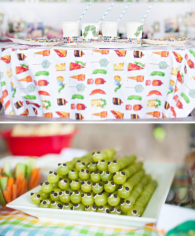 grape caterpillar- Leigh ann you should do this for emi's party!