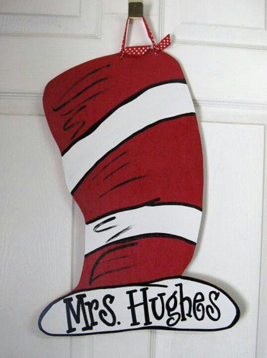 Dr. Seuss door hanger!
