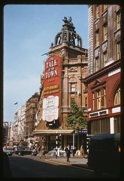 The Hippodrome on Leicester Square London. 28th June 1961