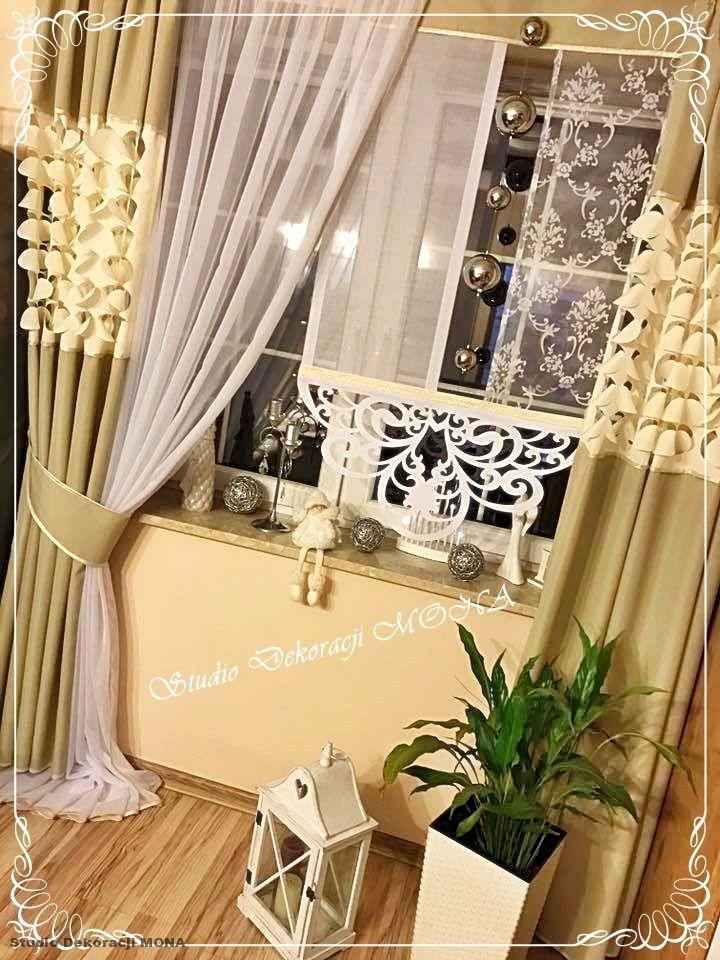 Komplet Surma Eurominge Zaslony Azur Woal 7145585528 Oficjalne Archiwum Allegro Curtains Home Decor Decor
