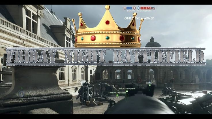 FRIDAY NIGHT BATTLEFIELD 1 - WEEKLY SHOW - GAMER COMMONWEALTH - BRO GAME...