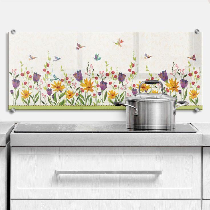 25+ ide terbaik Spritzschutz di Pinterest Backsplash dapur - küchenspiegel selber machen
