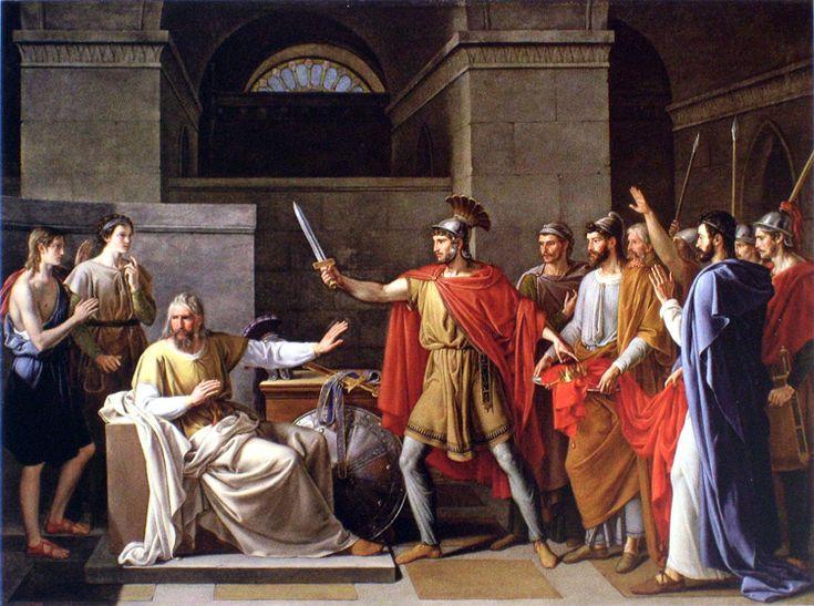 Wamba renunciando a la corona, de Juan Antonio Ribera.
