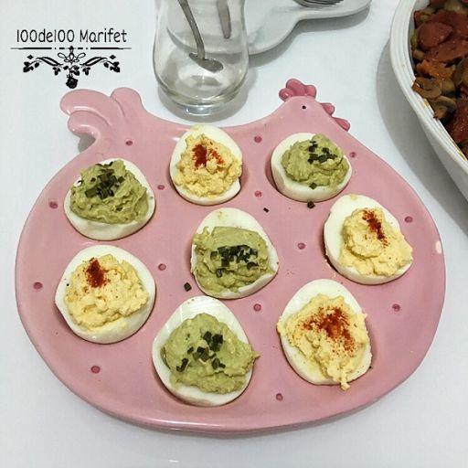 Haşlanmış Yumurta'lı Avokado Sos    Malzemeler:  ✨1 büyük yada 2 orta boy avokado   ✨2 haşlanmış yumurta   ✨1 yemek kaşığı zeytinyağ  ✨1 tatlı kaşığı hardal sosu (sevmeyenler mayonez koyabilir)  ✨Limon suyu  ✨Tuz