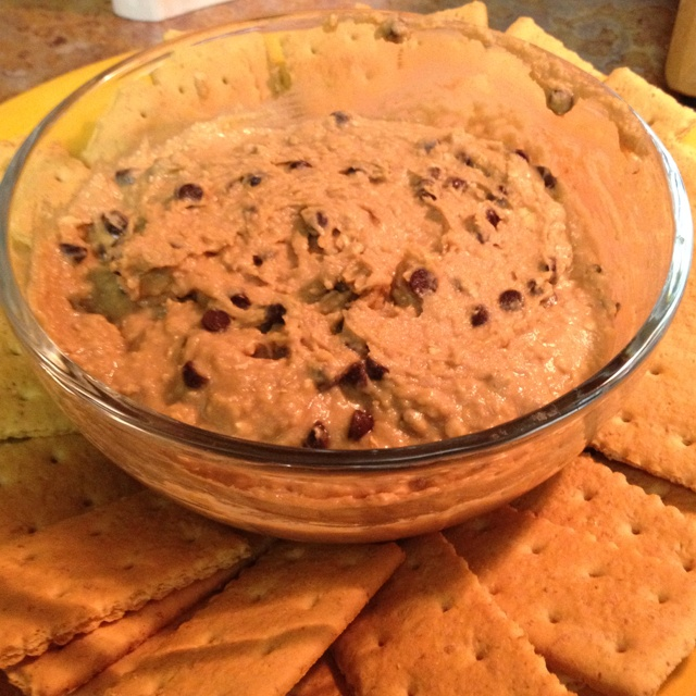 cookie dough dip chocolate chip cookie dough chocolate chips healthy ...