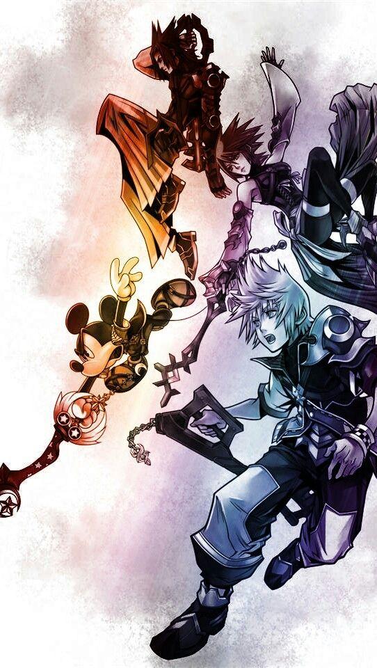 Kingdom Hearts Birth by sleep. Oh....mah...gat