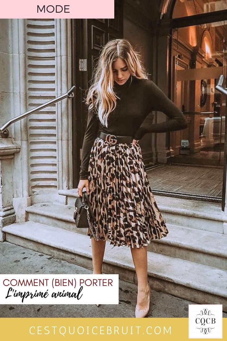 Great How to wear the animal print in 2019? #fashion #fashion # leopard #imprim …